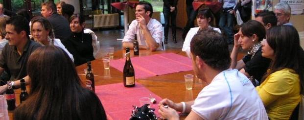 Feiern an der Abend-Fachoberschule