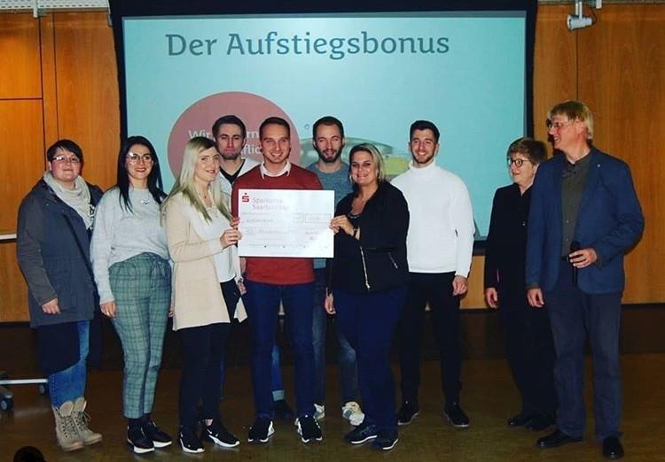 1.000 EUR Aufstiegsbonus für ABU-Absolventen